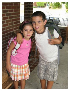 David-and-Daisy-First-Day-of-School