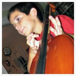 David-playing-cello