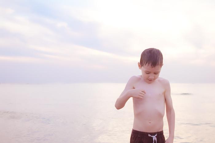 Luke-childhood-cancer-scar