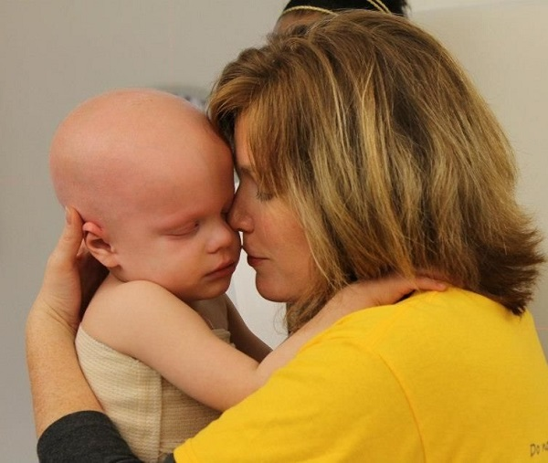 Chase while in treatment for childhood cancer