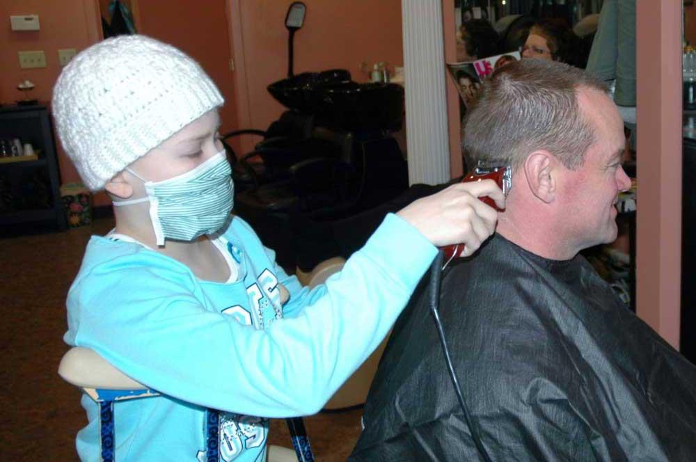 Kate-and-dad-St-Baldricks-head-shaving-event