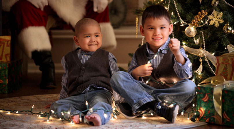 St. Baldrick's Foundation Childhood Cancer Holidays