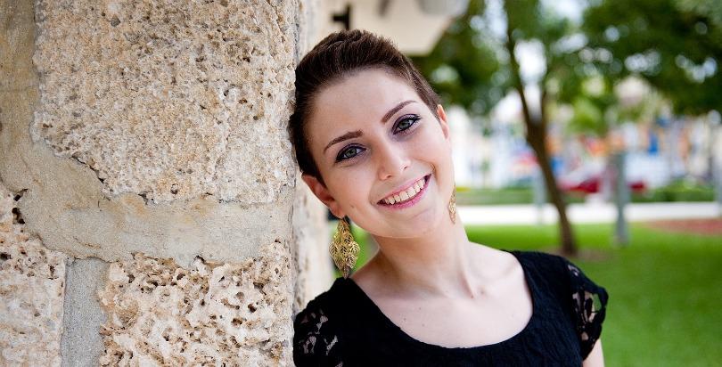 Ambassador Lauren smiles