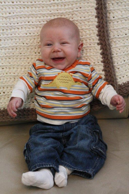 Andrew Flynn at 3 months old