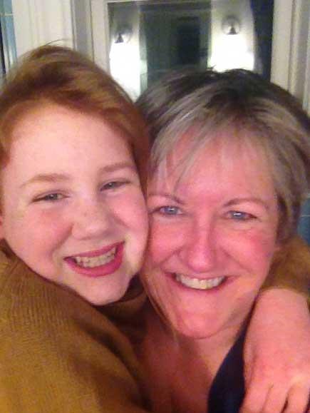 Rebekah Ham and her daughter, Grace