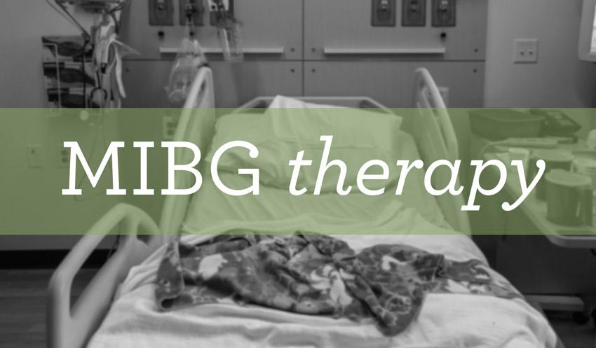 MIBG therapy