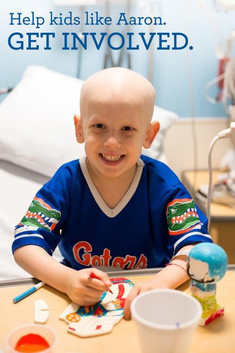 Get involved and help kids like Aaron.