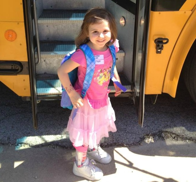 Lucy-school-bus