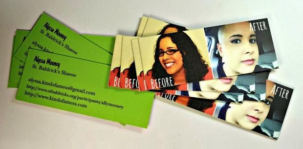 Alyssa's business cards