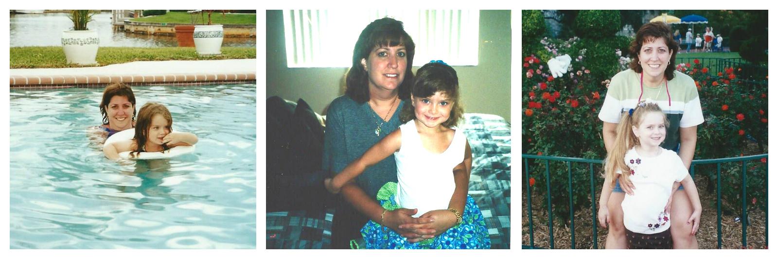 Lauren and her mom when Lauren was 3