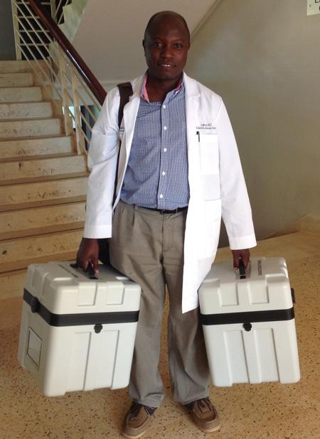 Dr. Lubega Uganda childhood cancer