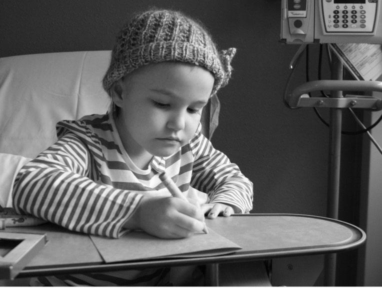 Natalie was diagnosed with precursor B cell lymphoblastic lymphoma last year