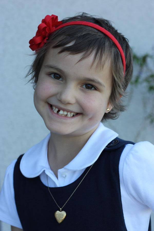 Natalie will finish her maintenance chemotherapy next December
