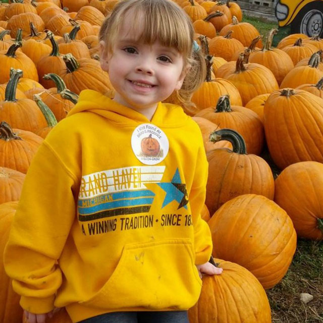 Peter's daughter Maddie fought childhood cancer and finished treatment three years ago