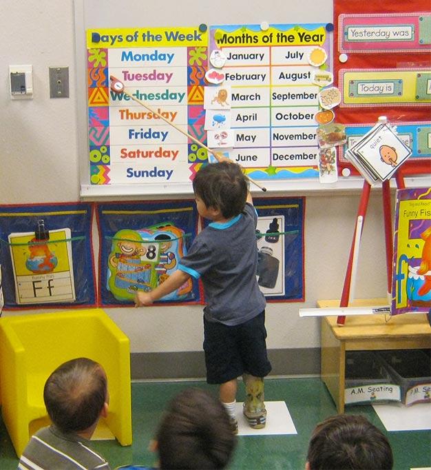 Alan in preschool