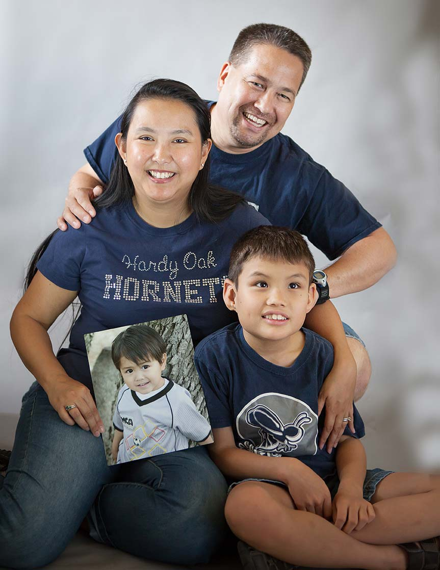 Sanders family photo