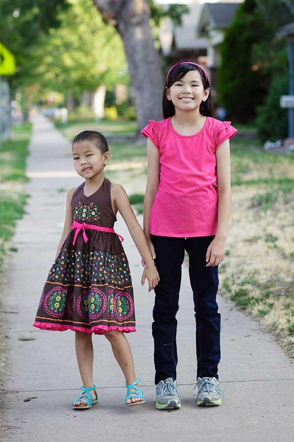 Ambassador Daisy and her sister Isabella