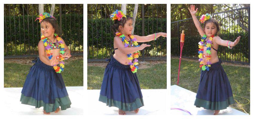 Aubrey hula dancing
