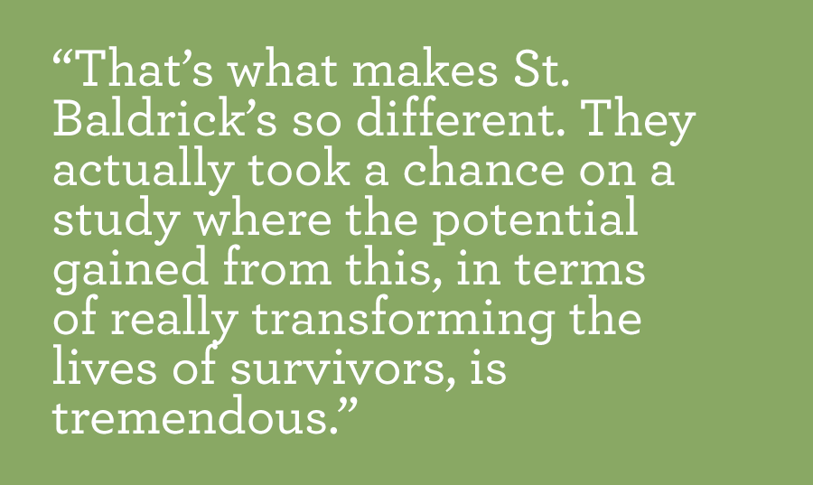 St. Baldrick's quote by Dr. Armenian