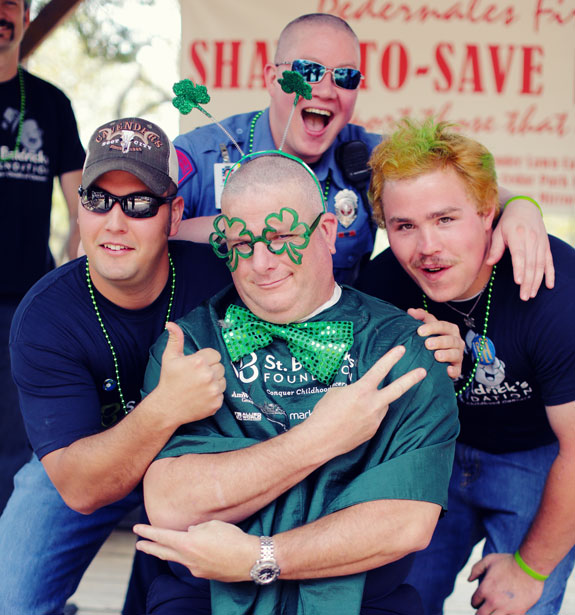 Shave with St. Baldrick's on St. Patrick's Day