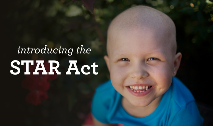 STAR Act for childhood cancer