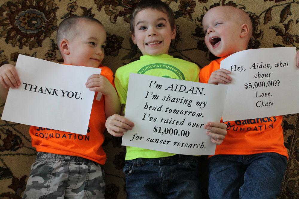 Karsten, Aidan and Chase
