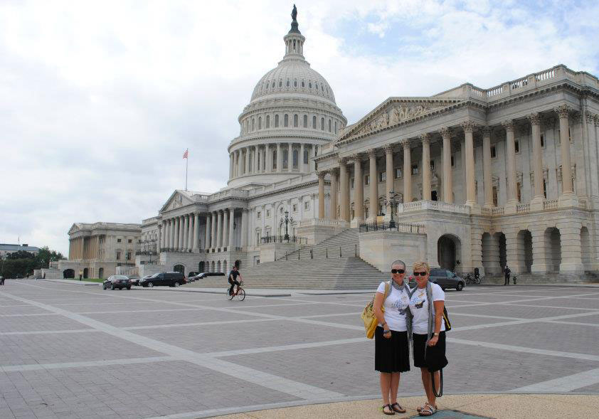 In 2011, the 46 Mommas traveled to Washington, D.C., to support the Creating Hope Act