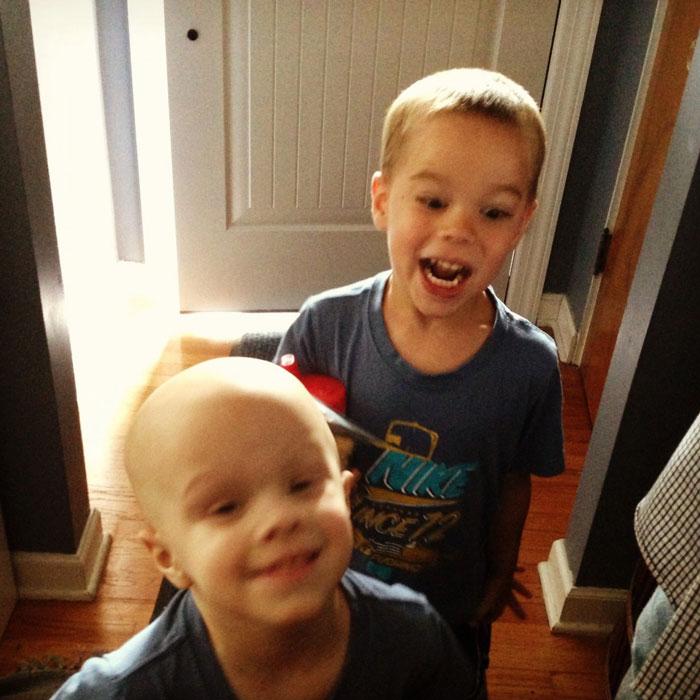 Aidan and Chase