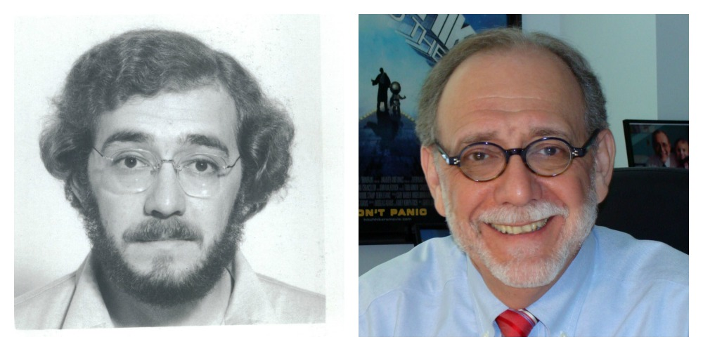Dr. Arceci then and now