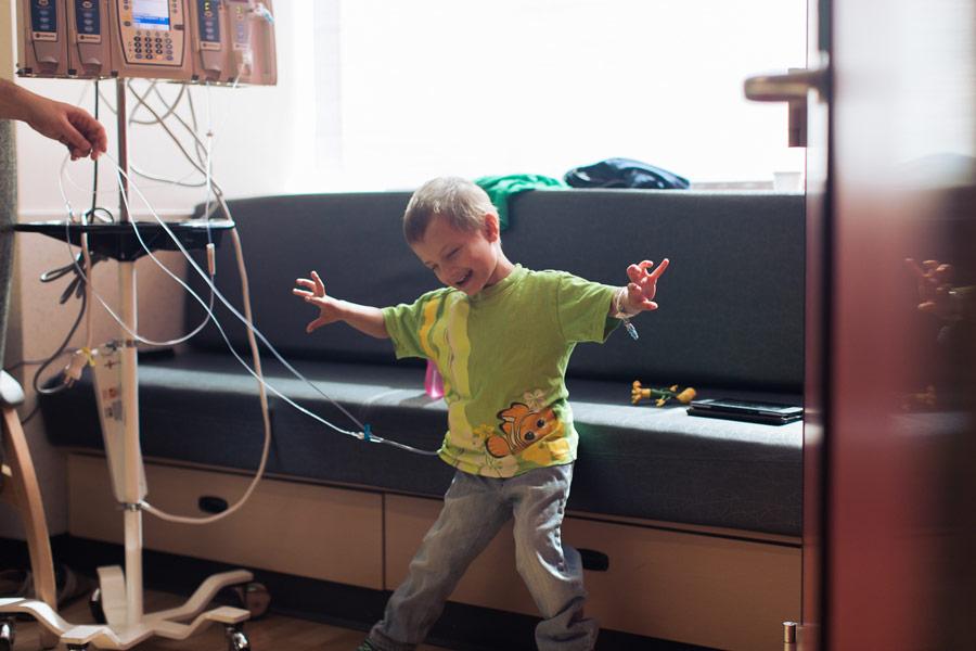 Micah dancing to Let It Go