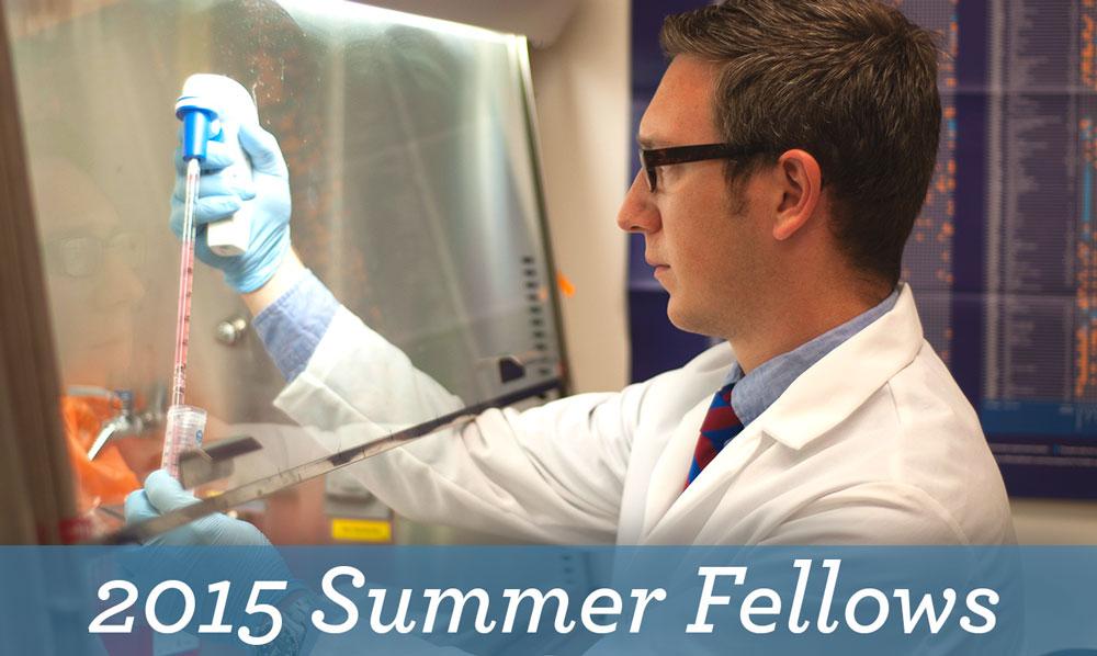 2015 Summer Fellows