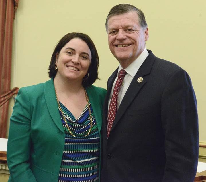 Danielle and Congressman Tom Cole