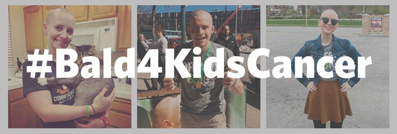 Tweet your bald selfie to Congress #bald4kidscancer
