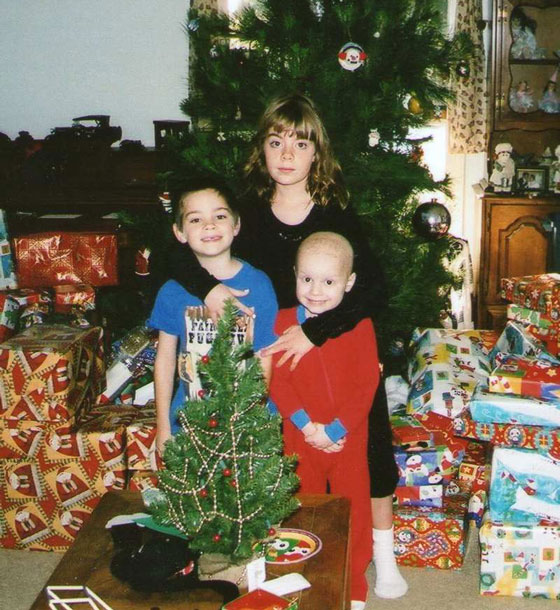 The Doyle siblings on Christmas