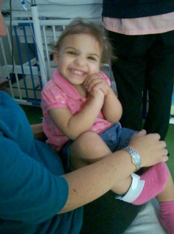 Isabella smiles