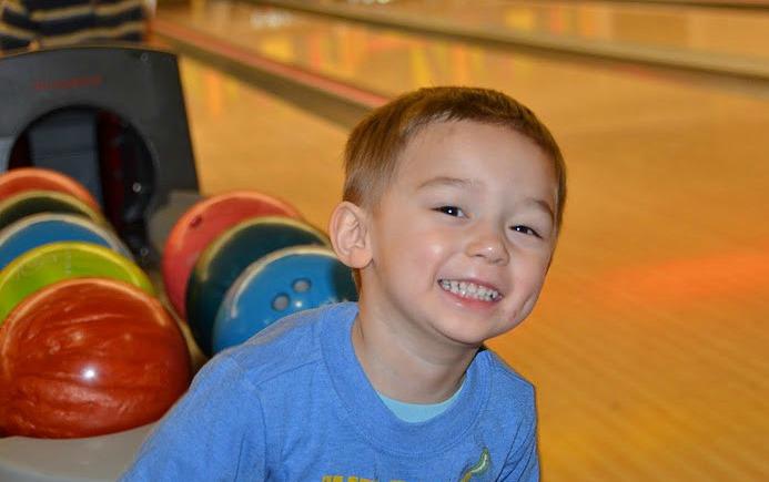 Scott enjoys bowling