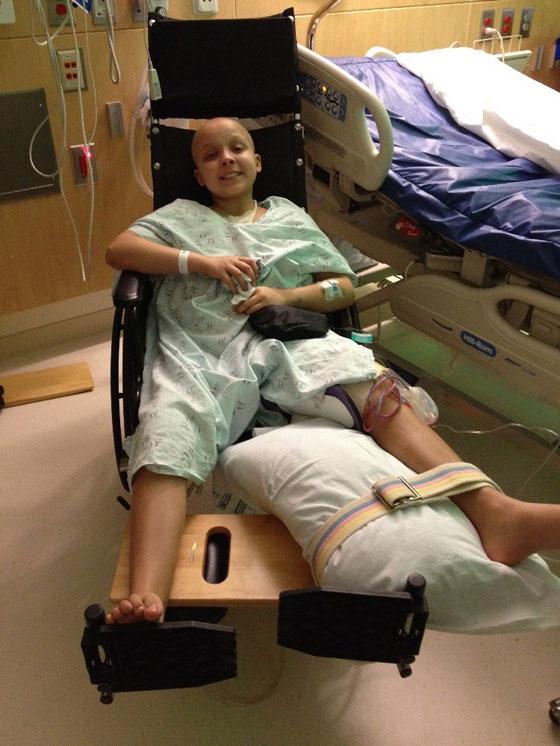Alyssa after surgery