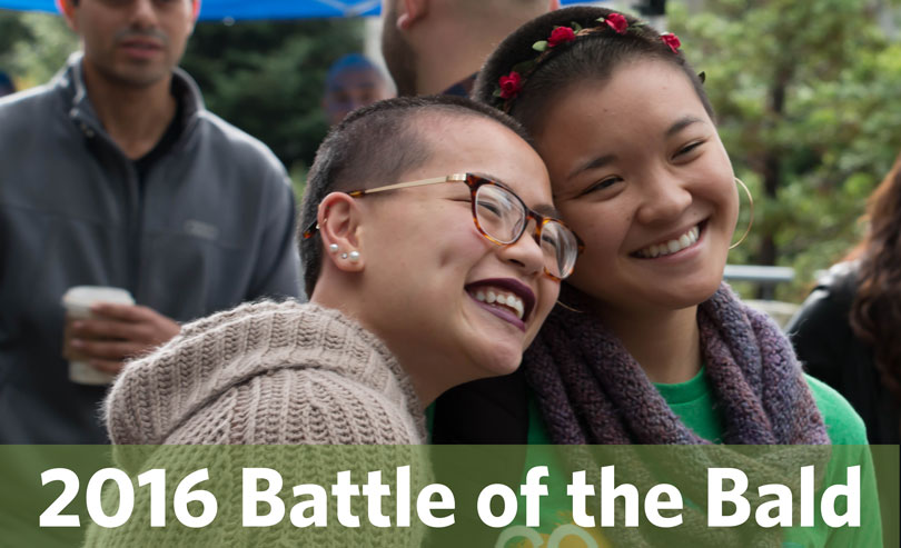 2016 Battle of the Bald event at UCSC