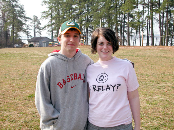 Sarah and Patrick meet at camp