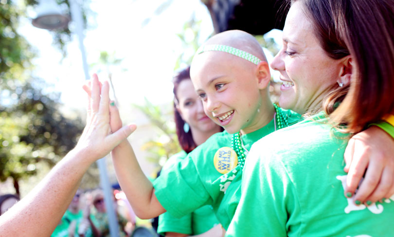 Why donate to St. Baldrick's for childhood cancer research?