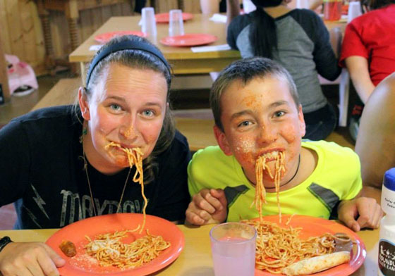 Carter spaghetti face