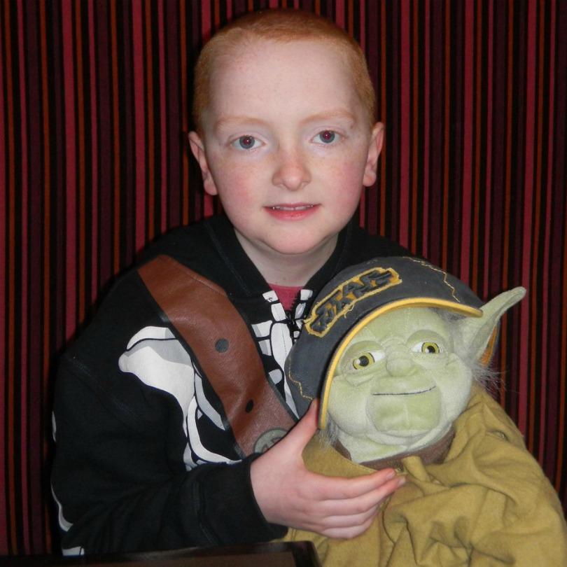 Ian with Master Yoda