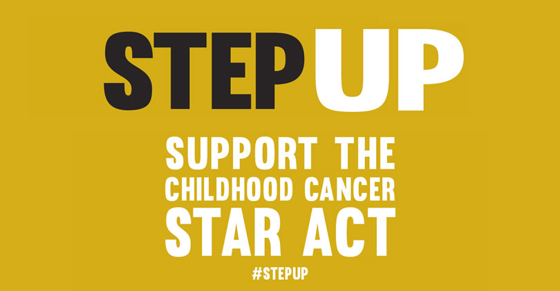Step Up: Support the Childhood Cancer STAR Act