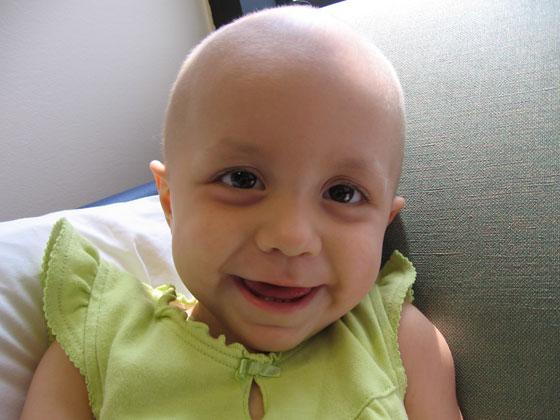 Althea smiling