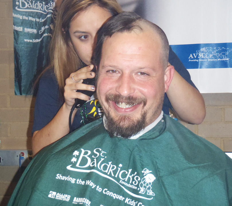 Head-shave photo