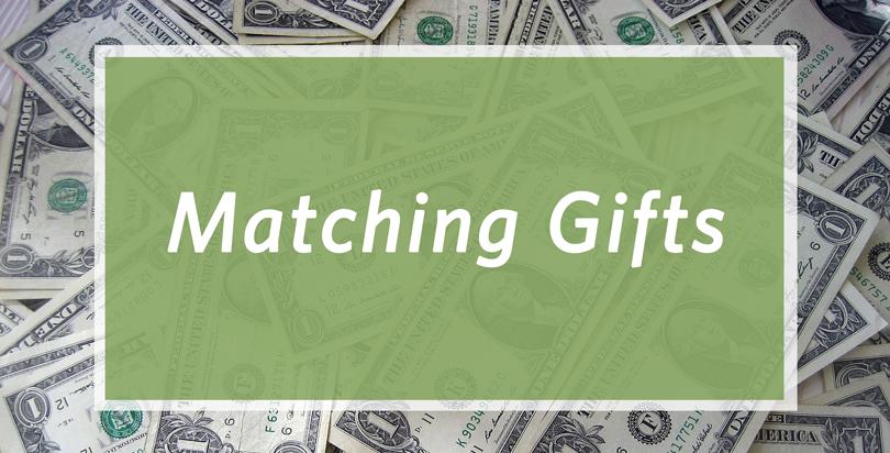 Matching Gift Banner