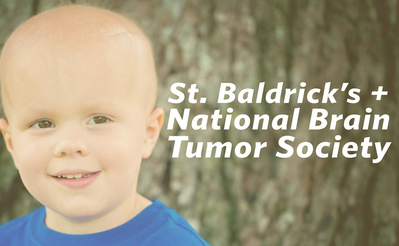 St. Baldrick's + the National Brain Tumor Society