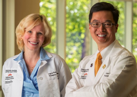 Dr. Alex Huang and Dr. Agne Petrosiute