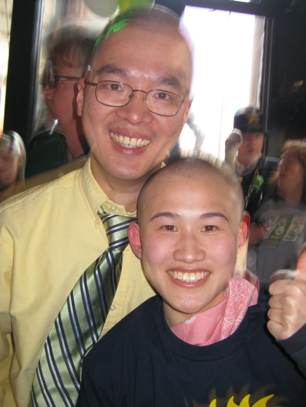 Dr. Jennifer Tsai with Dr. Alex Huang