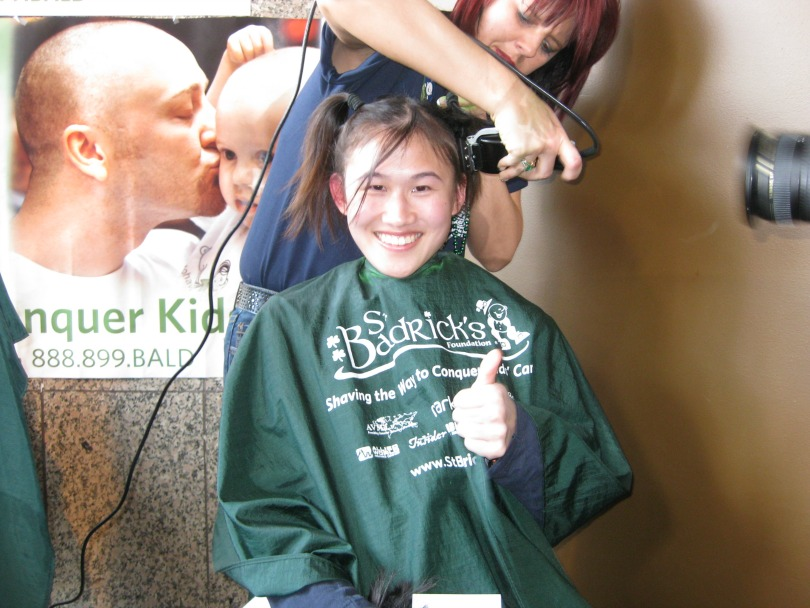 Dr. Jennifer Tsai goes under the clippers